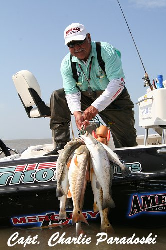 Matagorda Fishing - Trophy Trout and Redfish - Fish Matagorda Bay!